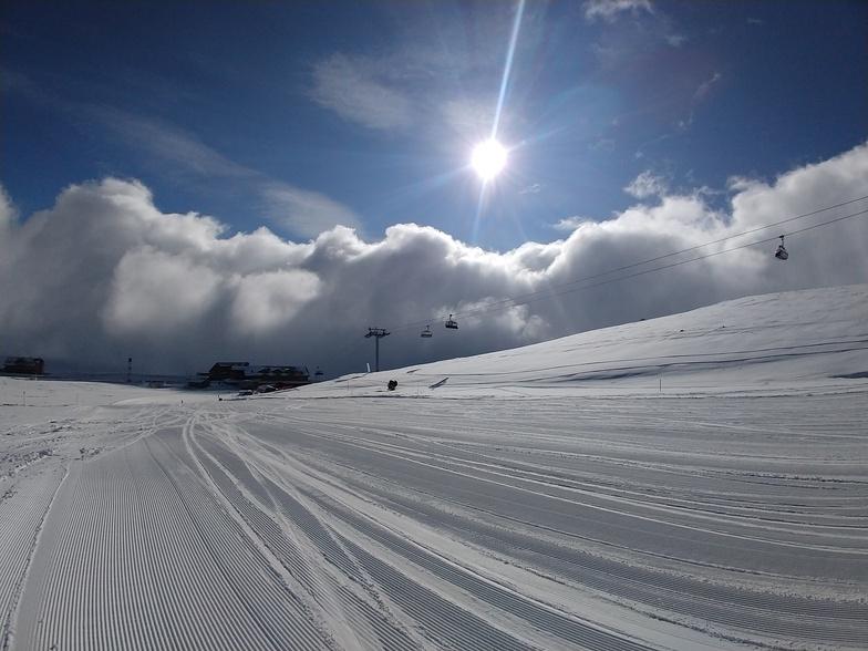 Clouds so close near Develi gate, Erciyes Ski Resort