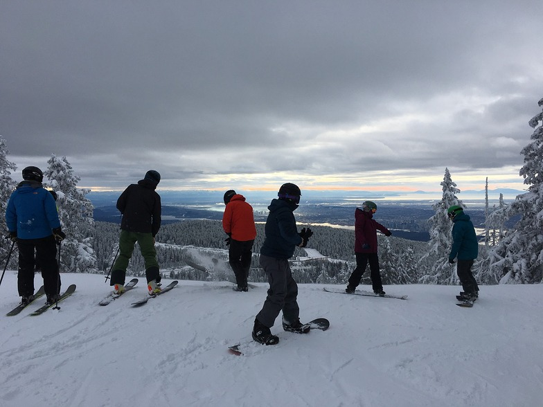 Good morning, Vancouver (and Burnaby)!, Cypress Mountain