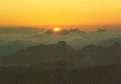 We're in heaven, Egypt., Jabal Katherina