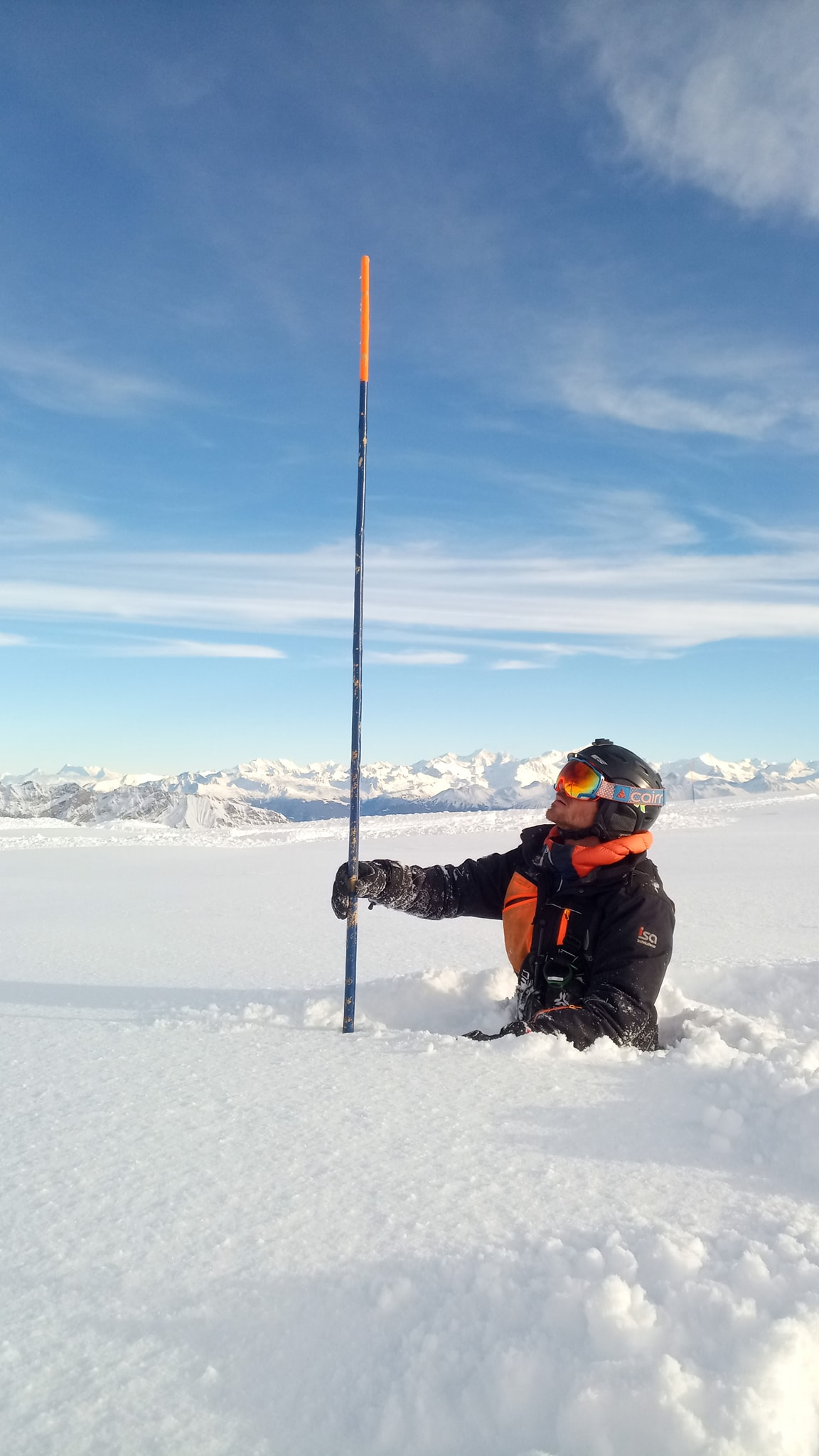 so much snow, Gstaad Glacier 3000