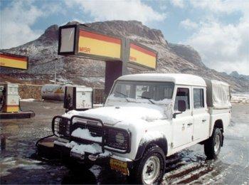 At the gas station, Egypt., Jabal Katherina