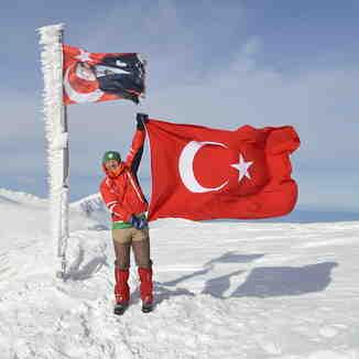 Uludağ peak 2543 mt.