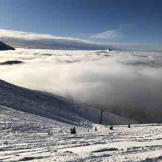 Brezovica above the clouds