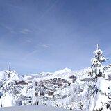 Deep snow, Avoriaz