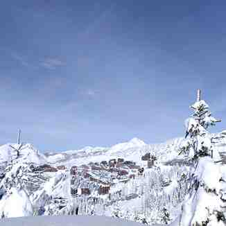 Deep snow, Avoriaz
