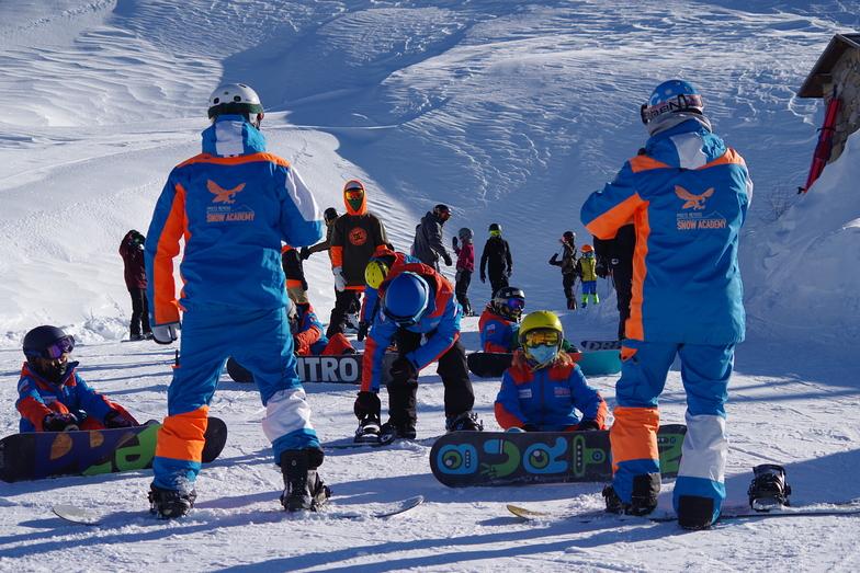 snowboard coaching, Mondolè (Prato Nevoso and Artesina)