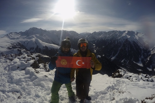 Karakol Mountain Ski Base Ski Resort by: Fatih  Göktürk