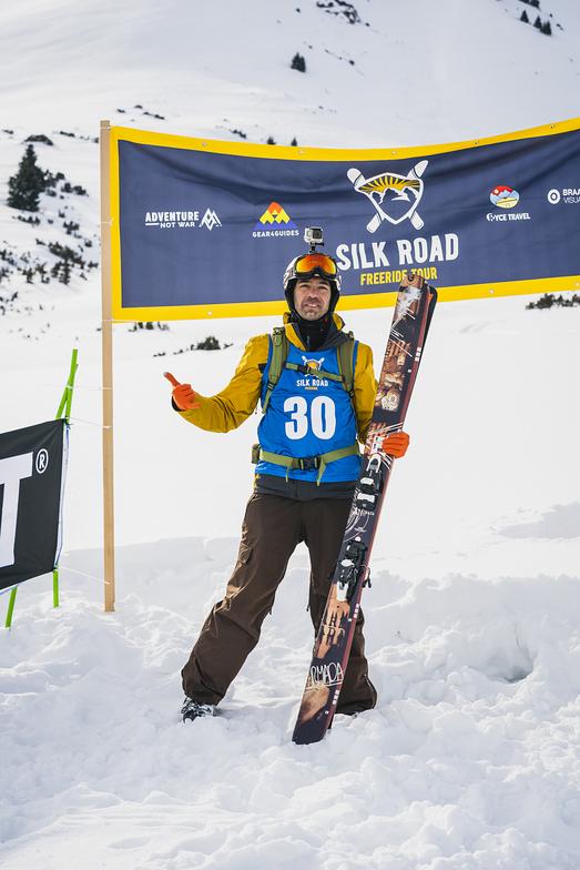 Silk Road Freeride Competition, Karakol Mountain Ski Base