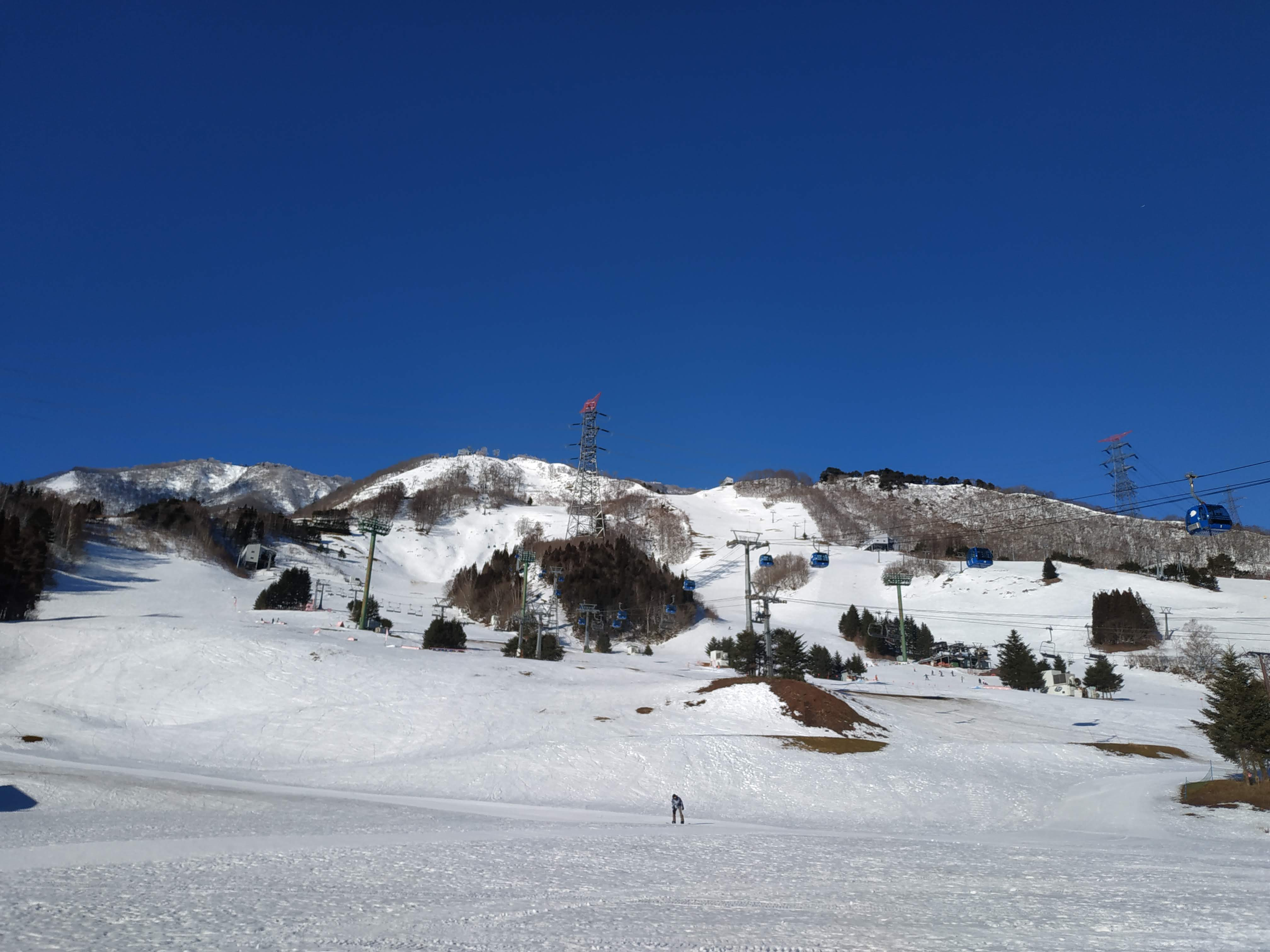 Naeba Ski Resort seen from the base