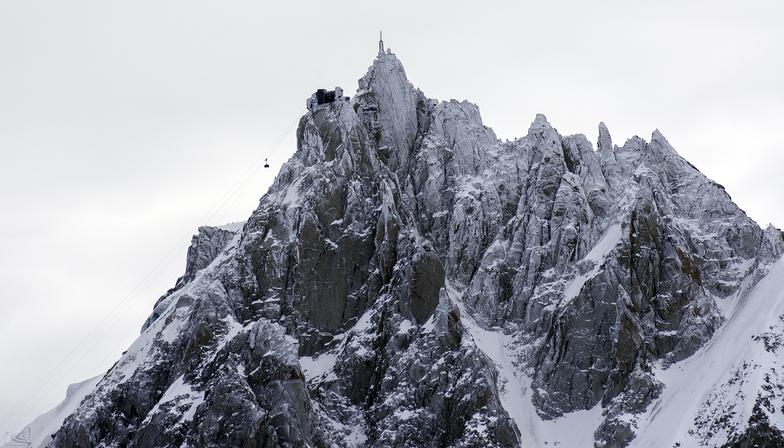 Aiguille du Midi, Les Houches
