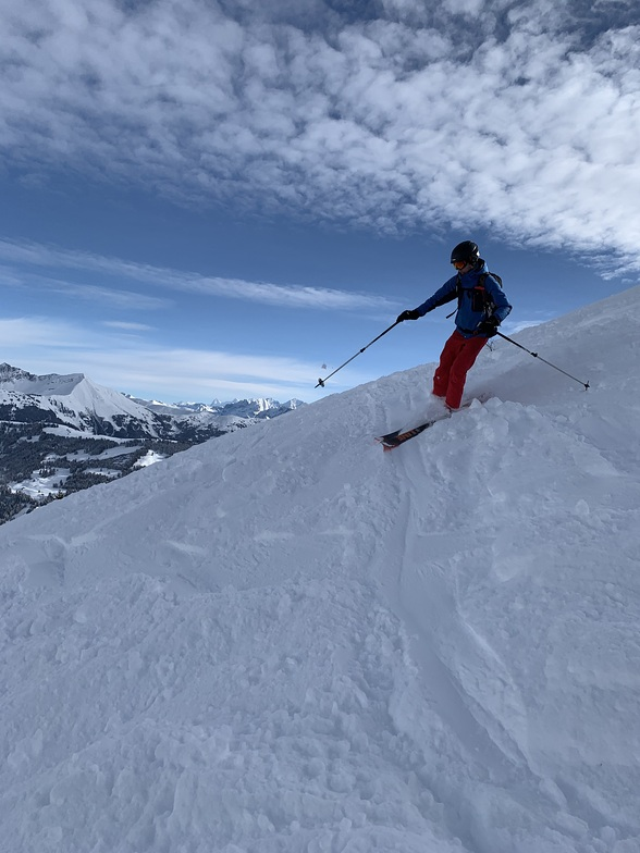 Above the clouds, Villars