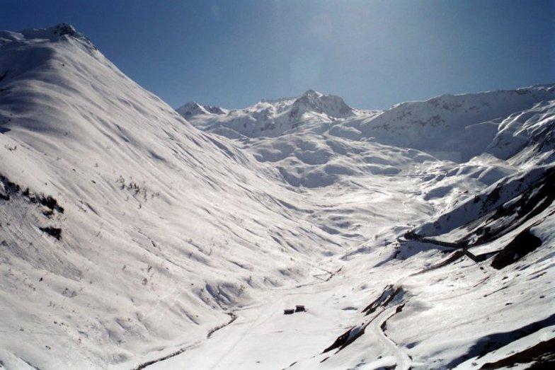 Sedrun Oberalp snow