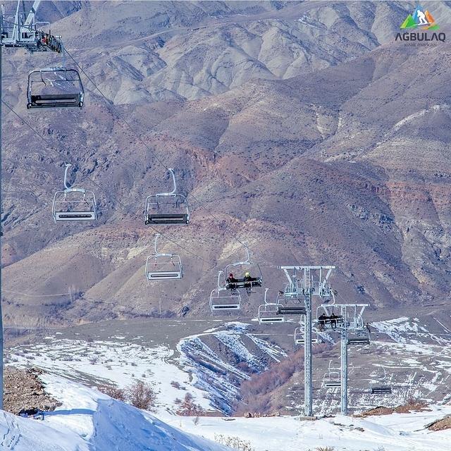 Chairlift, Agbulag Ski Resort