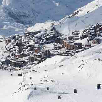 From peclet, Val Thorens