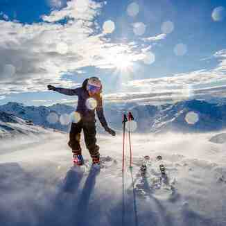 When the wind..., Val Thorens