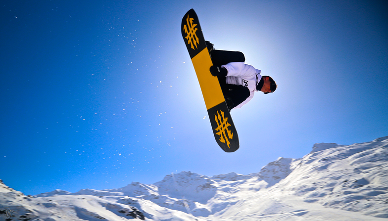 Flying in the sky, Val Thorens