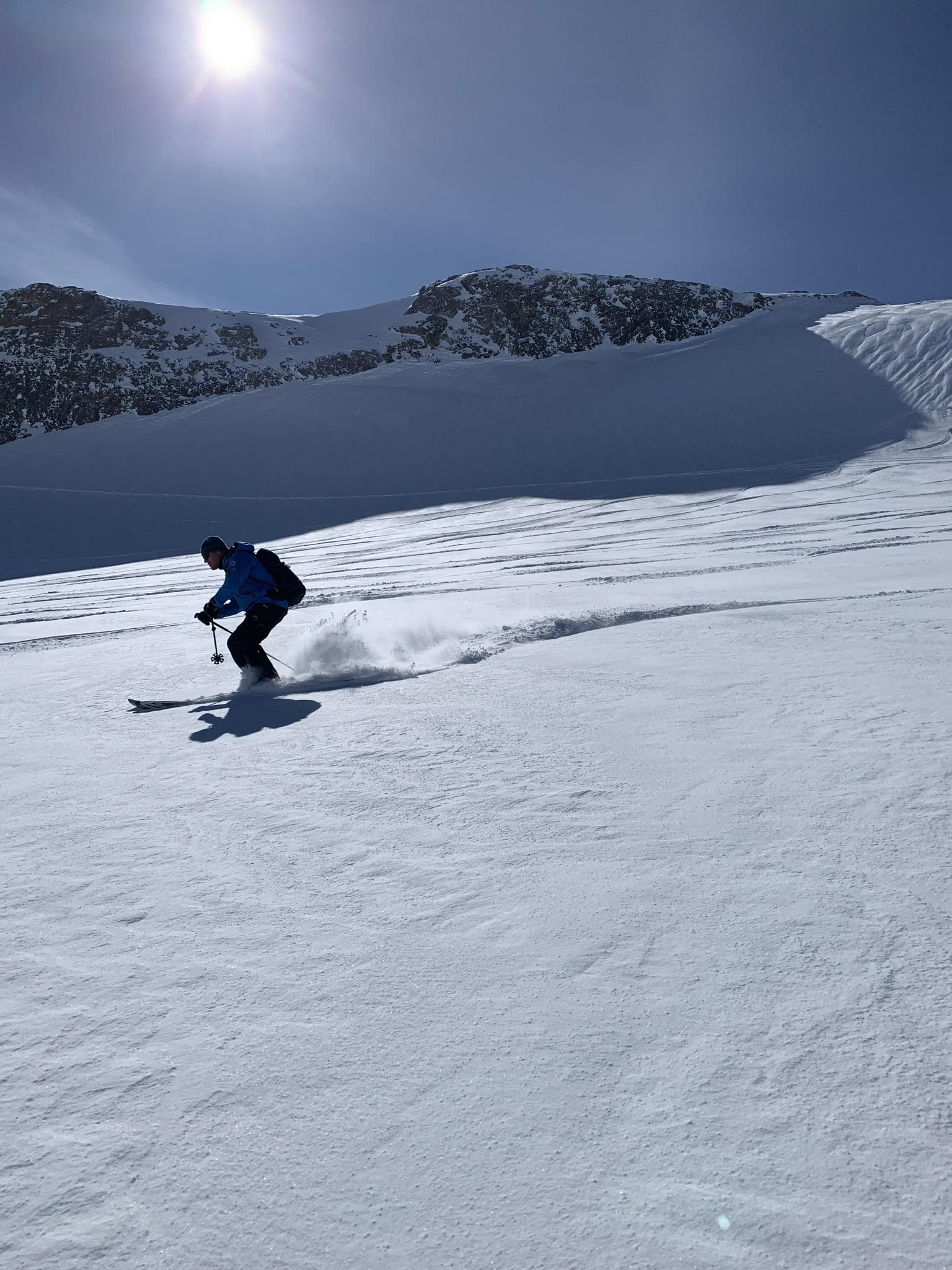 A day on glacier, Villars