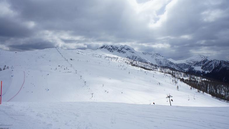 Skiing Area, San Martino Di Castrozza