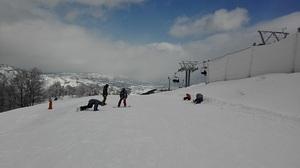 The top of the Sociable quad lift at GALA Yuzawa photo