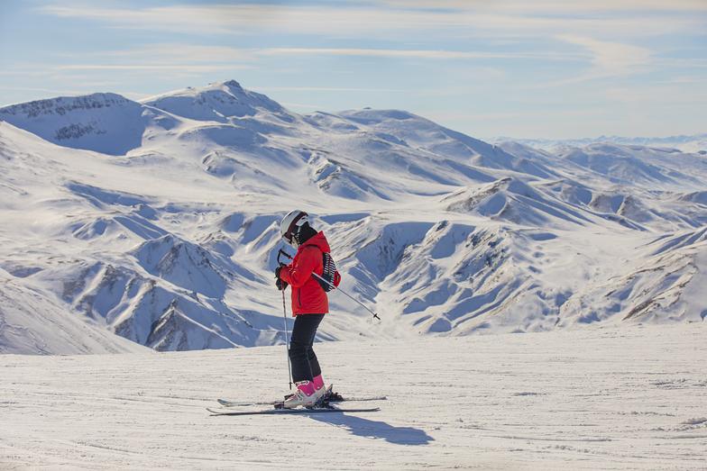south slope, Mt Palandöken