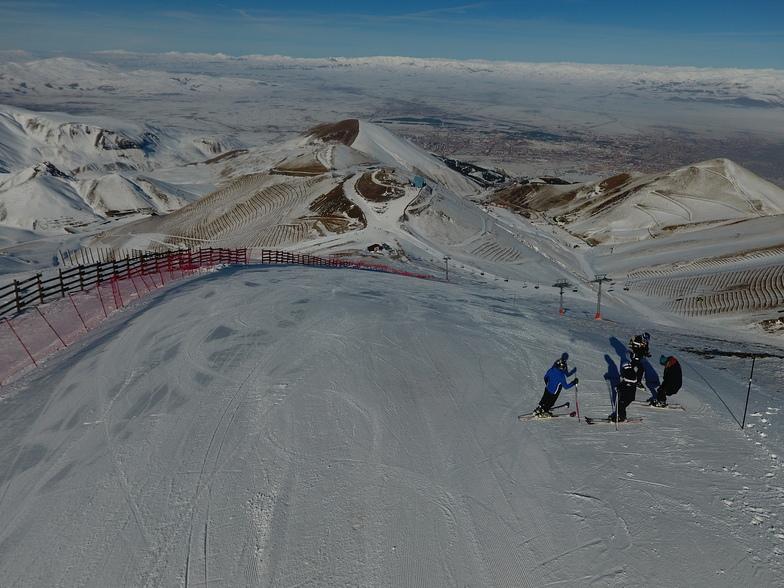 ejder slope, Mt Palandöken