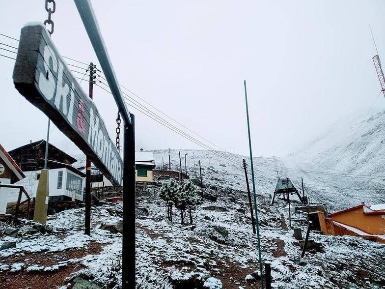 Vallecitos snow