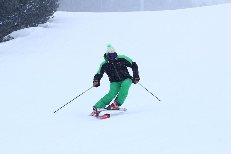 Slalom Teknik Alıştırma, Sarıkamış