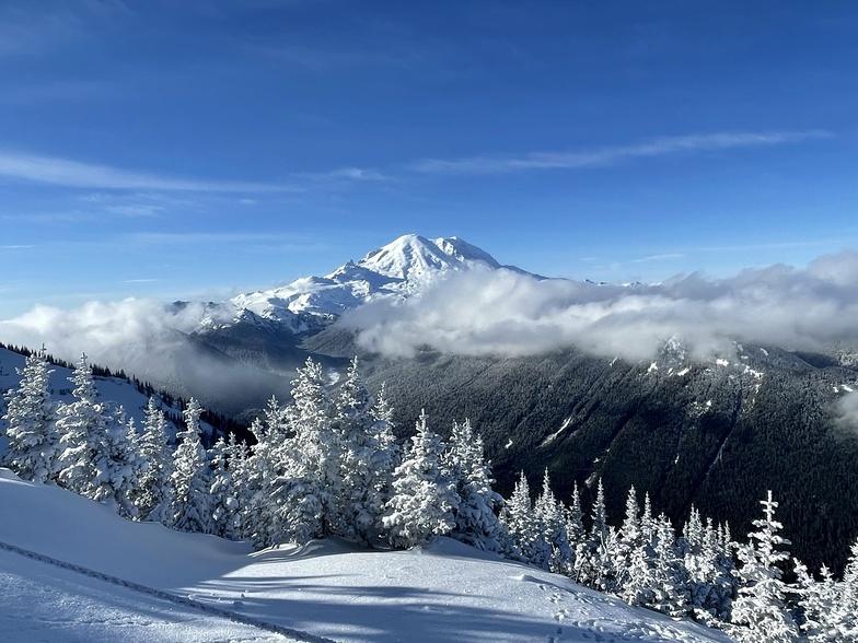 Crystal Mountain snow