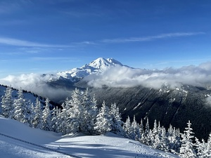 Mt. Rainier, Crystal Mountain photo