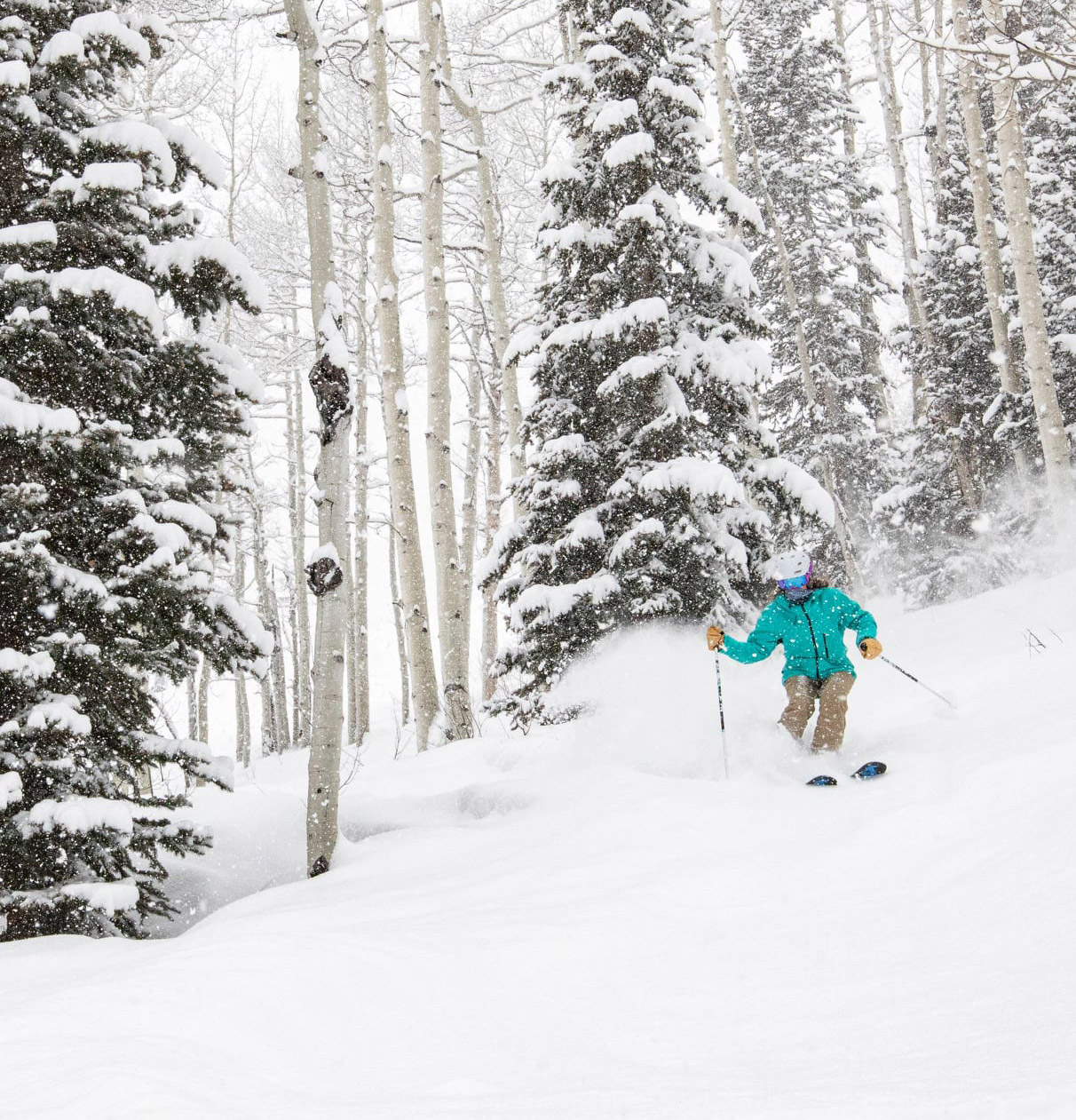 great conditions, Crested Butte