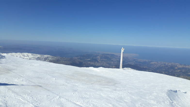 Beirut from the top, Mzaar Ski Resort