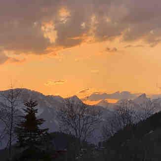 Sunset, Villars