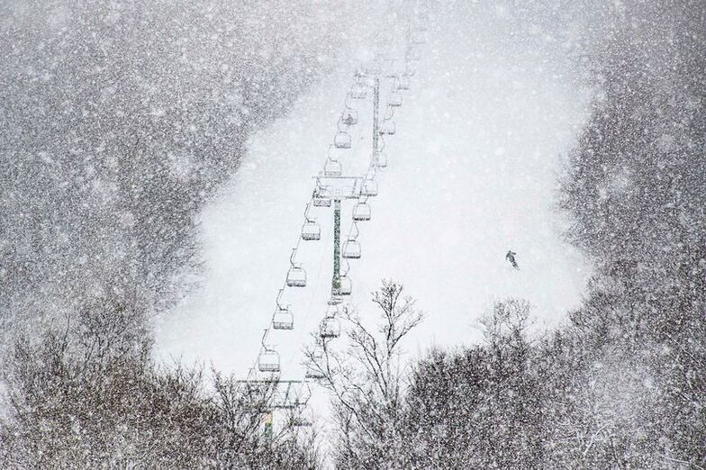 quiet lift, Jay Peak