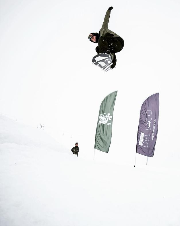 snow park, Villarrica-Pucon