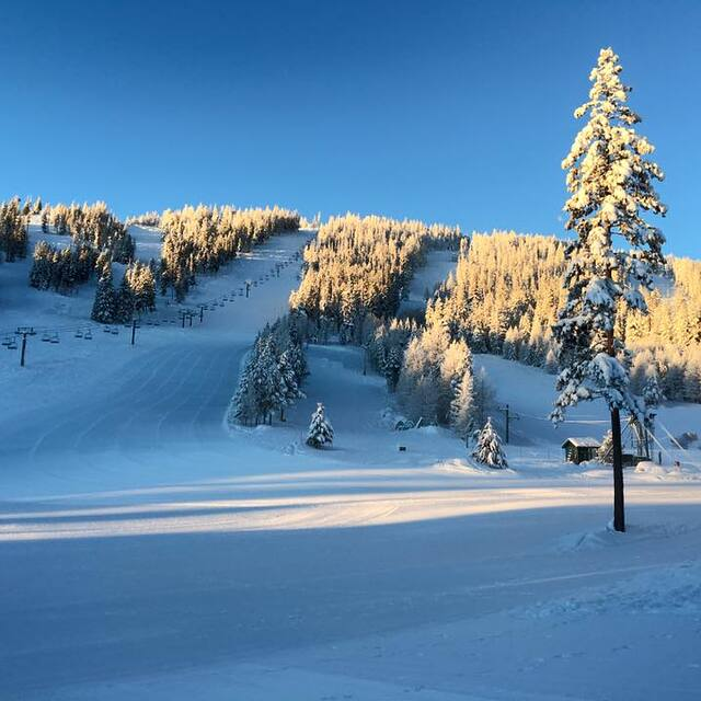 Another Bluebird Morning at the Loup!, Loup Loup