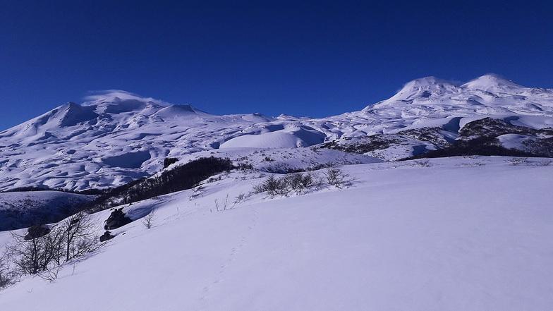 team PIEDRAPIRAMIDE en Purgatorio, Nevados de Chillan