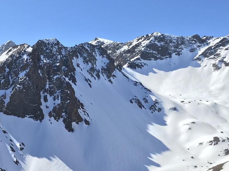 Sordo Lucas Volcán  south face, Alto del Padre