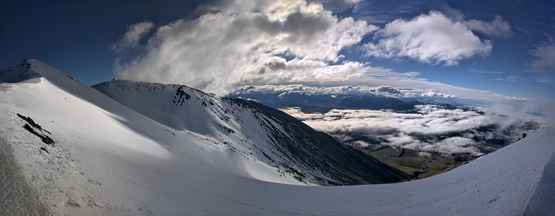 View from out the Back of Virgin Mile, Mt Hutt