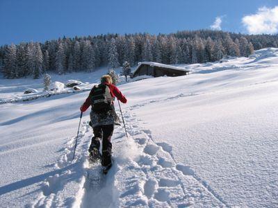 snowshoe- tour in tirol, St Johann in Tirol