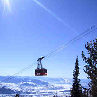 The Aerial Tram, Jackson Hole, WY