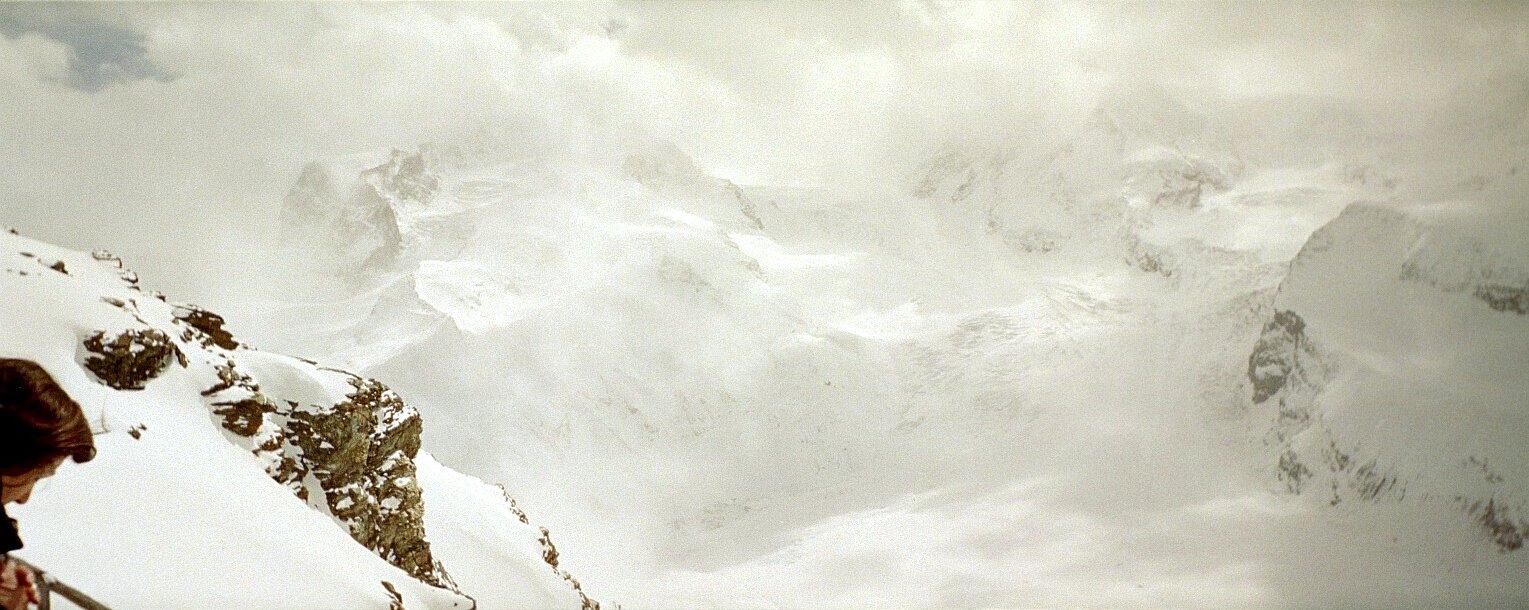 Monte Rosa Snowstorm, Zermatt