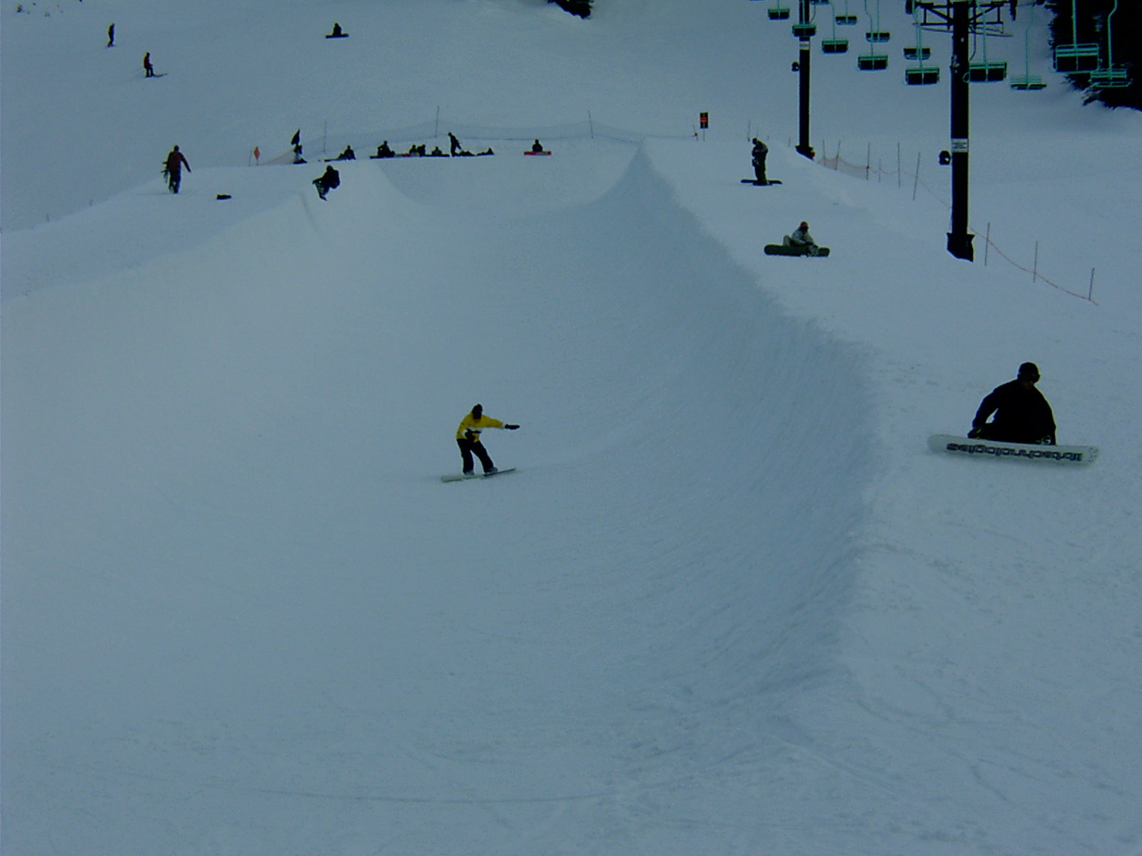 James in the Pipe, Stevens Pass
