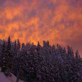 Hogsback Sunset - Again, Stevens Pass
