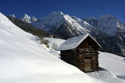 Kaunertal snow