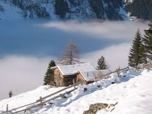 winter in the tuxer alps tyrol, St Johann in Tirol photo