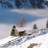 winter in the tuxer alps tyrol, St Johann in Tirol