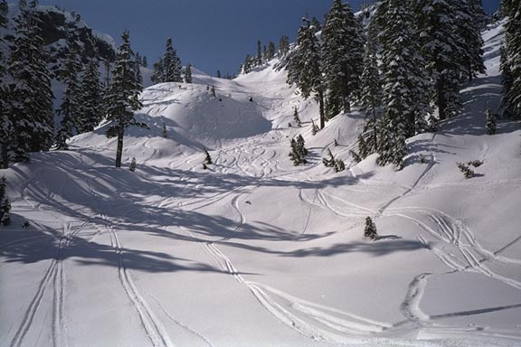 Big wide runs at Snoqualmie Pass Washington State, The Summit at Snoqualmie