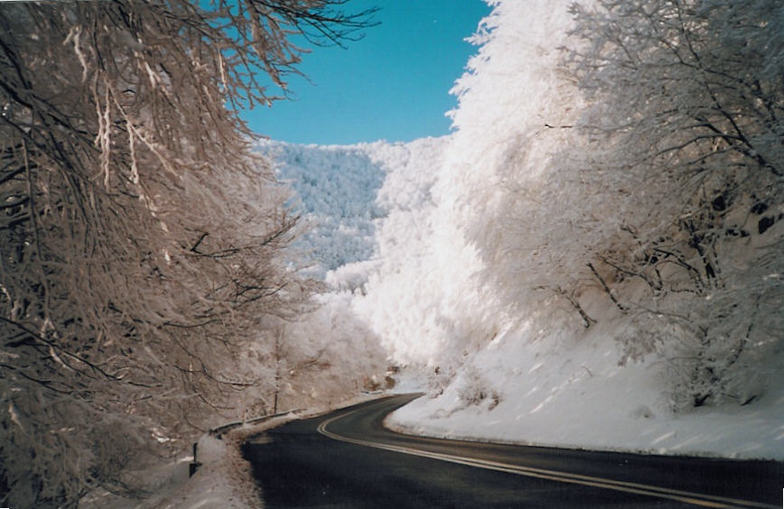 Road to Vigla's Snow Resort, Vigla Pisoderi