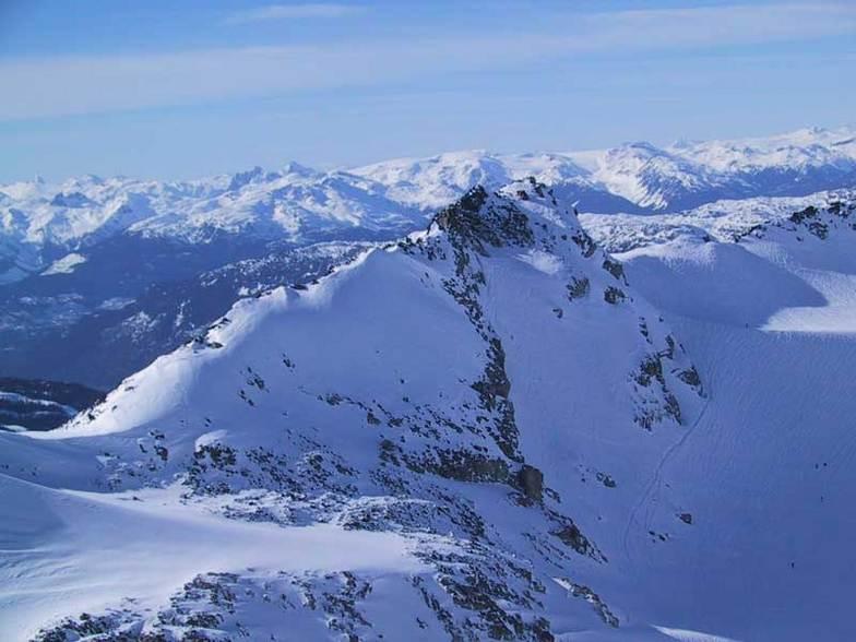 The top of the Blackcomb Glacier, Blackcomb, BC, Whistler Blackcomb