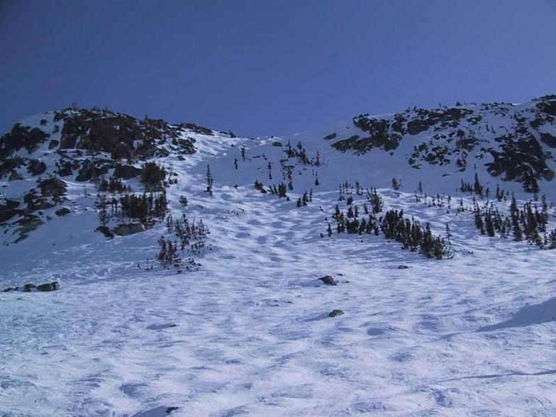 Left of Pakalolo Chute, Blackcomb, BC, Whistler Blackcomb